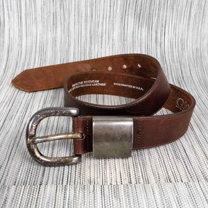 Gavin Richards Industrial Western Style Belt Sz 29